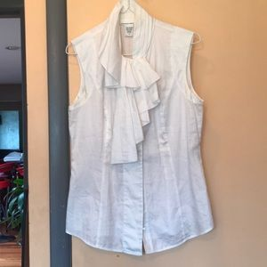 DVF White Cotton Tank